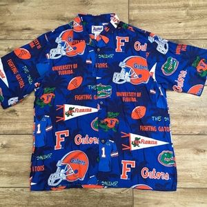 140e68d8 Reyn Spooner Florida Gators Mens Hawaiian Shirt